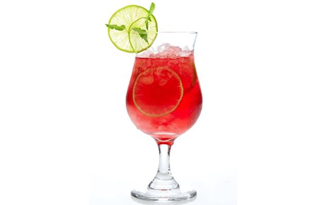 Five Swanky Cocktails - Cranberry Fizz