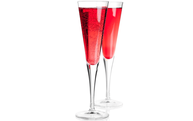Five Swanky Cocktails - Pomegranate Prosecco