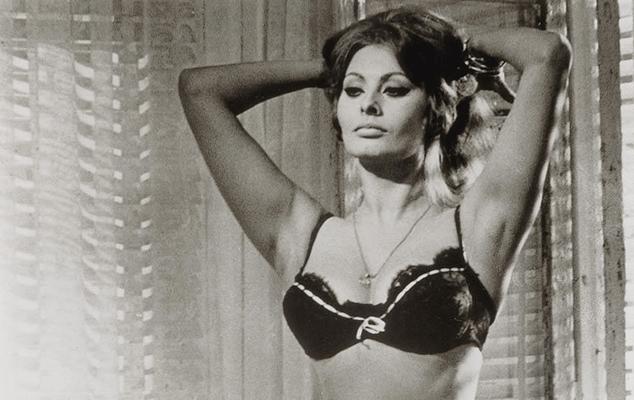 Ten Most Fabulous Bras - Sophia Loren