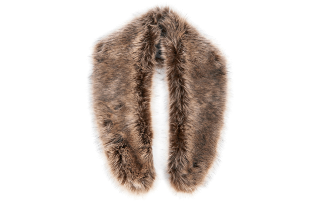 Classic Hollywood Starlet - Faux Fur Topper
