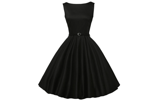 Classic Hollywood Starlet - Perfect Little Black Dress