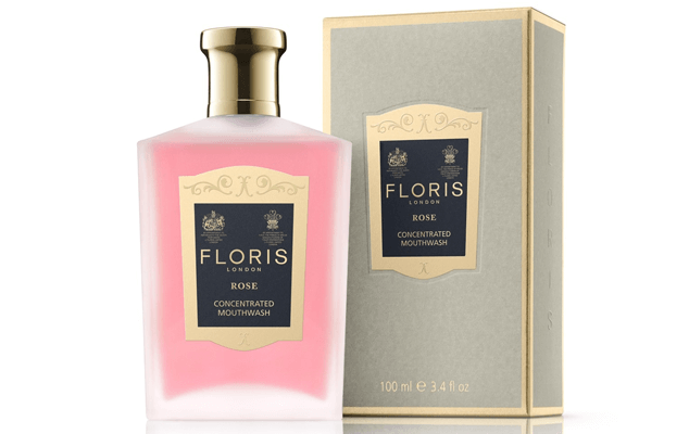 Vintage Beauty Products - Floris London Mouth Wash