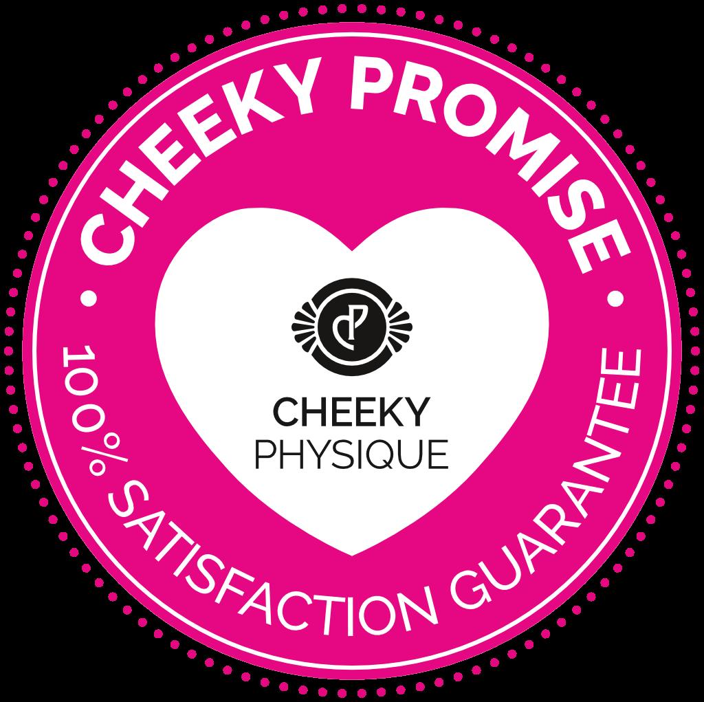 Cheeky Physique Guarantee Badge