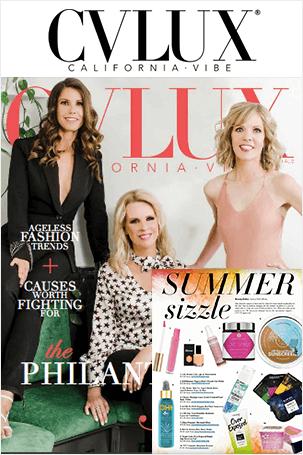 Press Clipping - CVLUX California Vibe Magazine