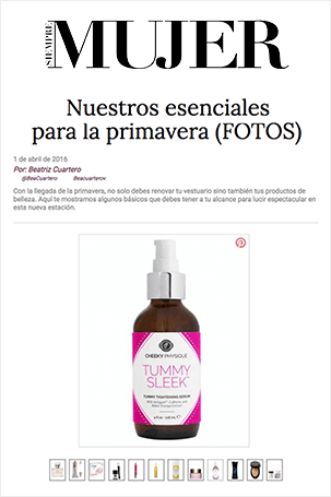 Press Clipping - Siempre Mujer