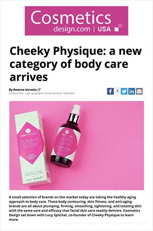 Press Clipping - Cosmetics Design Dot Com