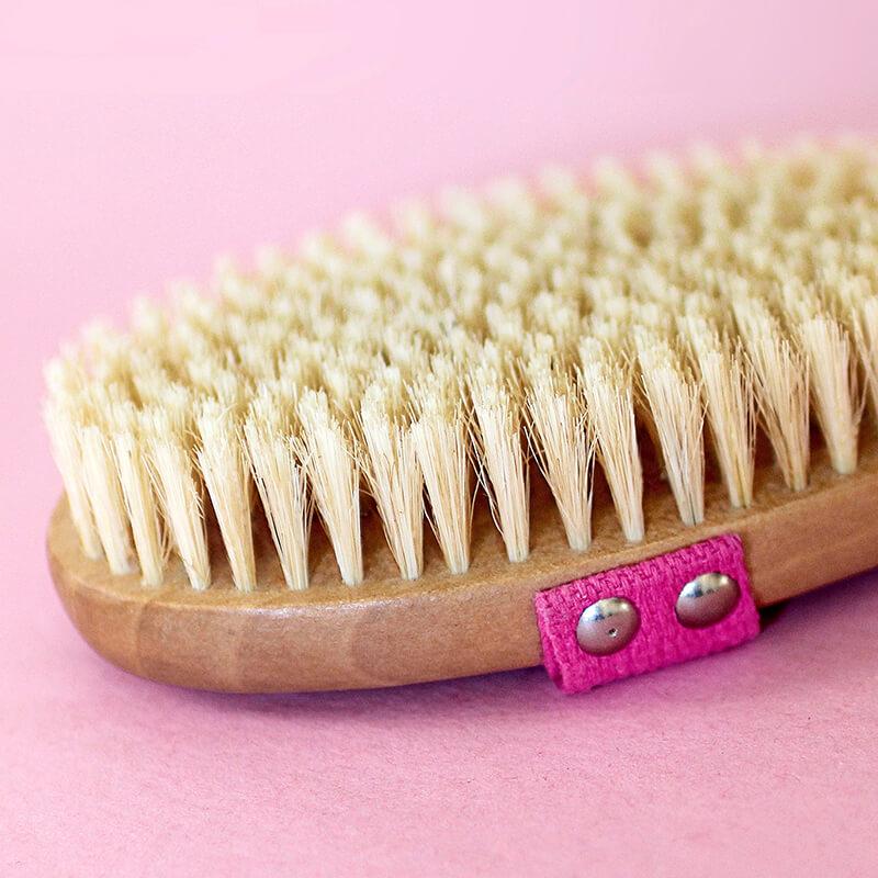 Tone & Glow Body Brush Natural Bristle Dry Brush