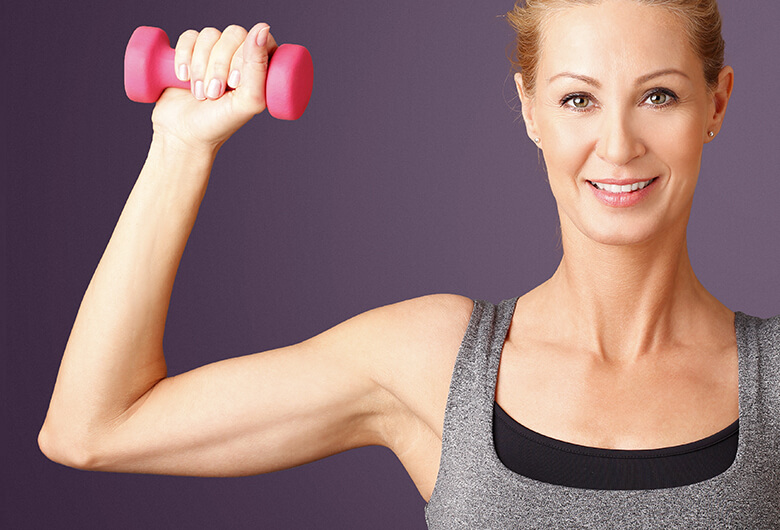 get rid flabby arms