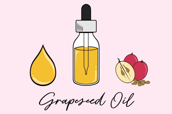 grapeseed oil diagram