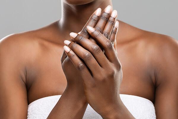 black beautiful hands