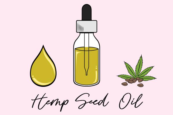 hemp seed oil diagram