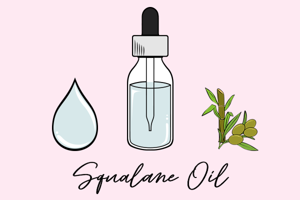 squalane oil diagram