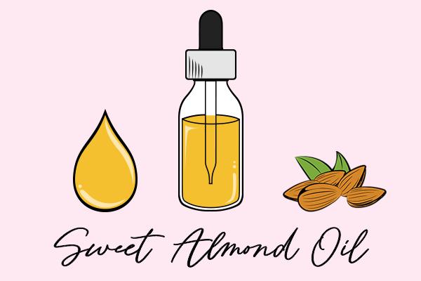 sweet almond oil diagram